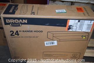 "Broan 24"" Range Hood"