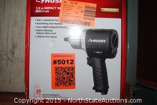 Husky 1/2 in  Impact Wrench