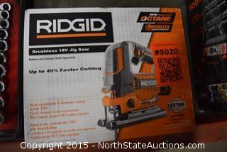 RIDGID Brushless 18V Jig Saw
