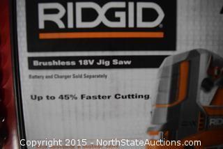 RIDGID Brushless 18V Jig Saw