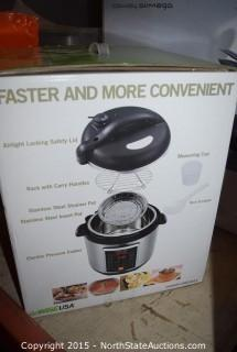 GoWISEUSA Electric Pressure Cooker