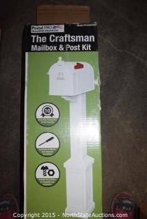 The Craftsman Mailbox & Post Kit