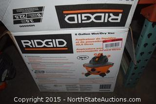 RIDGID 6-Gallon Wet and Dry Vac