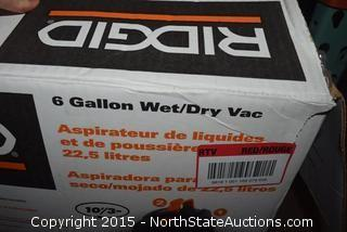 RIDGID 6-Gallon Wet and Dry Vac