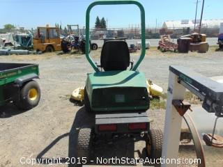 "1997 John Deere F925 Front Mower with Commerical 72 72"" Cutter"