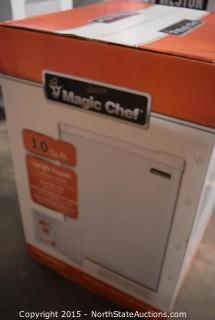 Magic Chef Upright Freezer