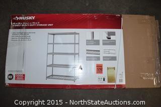 HUSKY 5-Shelf Heavy-Duty Storage Unit