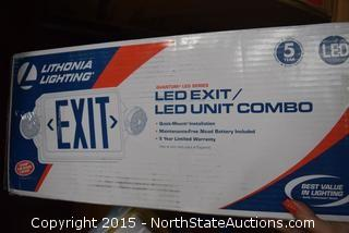 Lot of Exit Sign