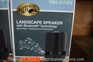 Lot of Hampton Bay Landscape Speakers