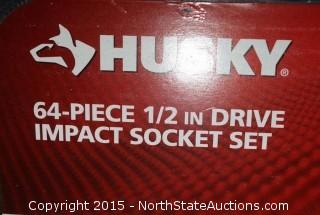HUSKY 64-PIECE Impact Socket Set