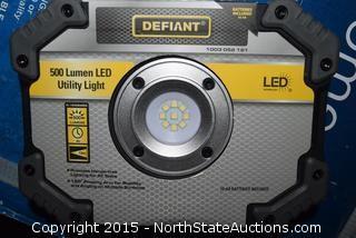 Lot of Defiant Utility Lights