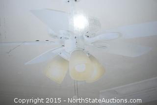 Hampton Bay 42in Small Room Ceiling Fan