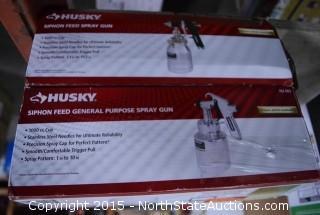 HUSKY Siphon Feed General Purpose Spray Gun