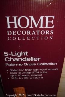 Home Decorators Collection 5-Light Chandelier