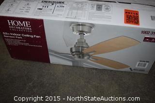 Home Decorators Collection 52in Indoor Ceiling Fan