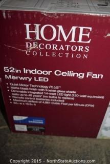 Home Decorators Collection 52in Indoor Ceiling Fan