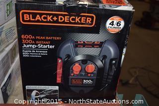Black+Decker Jump-start