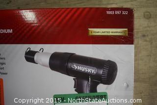 HUSKY Vibration Dampened Medium Stroke Air Hammer