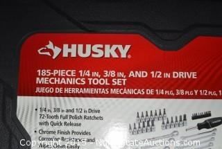 HUSKY 185-Piece Mechanics Tool Set