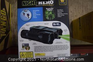 Lot of Night Hero Binoculars