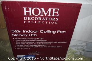 Home Decorators Collection Indoor Ceiling Fan