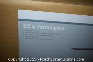 52in Farmington Ceiling Fan