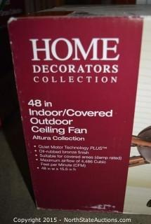 Home Decorators Collection 48in Ceiling Fan