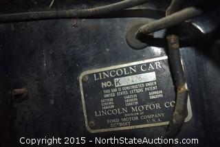"1938 Lincoln V12 Sedan 7 Passenger ""Mildred"""