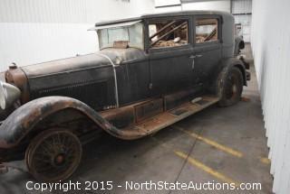 """1929 Lincoln Town Sedan, 5 passenger, 2 window, V8,  Type 169A  """"Millie"""""""