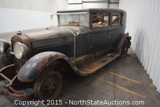 "1929 Lincoln Town Sedan, 5 passenger, 2 window, V8,  Type 169A  ""Millie"""