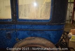 "1928 Lincoln Sedan 7 Passenger Type 147A  V8 ""Isabell"" Body by Murray"