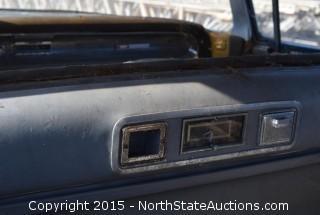 "1960 or 61 Cadillac Fleetwood limousine ""Leeta"""