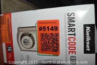 Smart Code 913 Touchpad Electronic Deadbolt