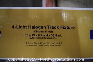 Hampton Bay 4-Light Halogen Track Fixture