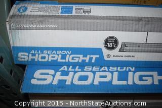 Lot of All Season Shoplights