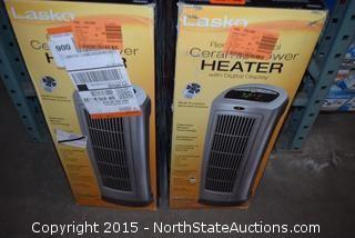 Lasko Ceramic Tower Heater with Digital Display