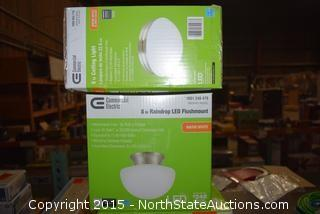 Lot of Misc Commercial Electric Lights