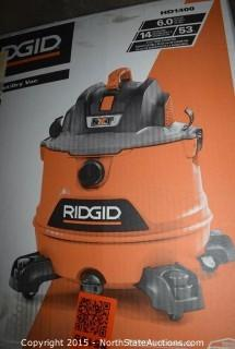 RIDGID 14-Gallon Wet and Dry Vac