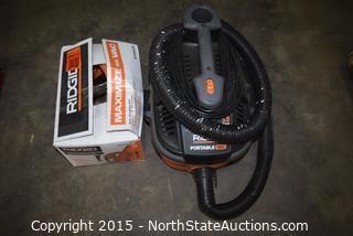 RIDGID 4-Gallon Portable Wet and Dry Vac