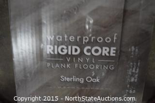 Lot of Lifeproof Waterproof RIDGE CORE Vinyl Plank Flooring