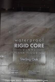 Lot of Lifeproof Waterproof RIDGE CORE Vinyl Plank Flooring