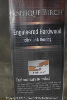 Lot of Home Legend Engineered Hardwood Flooring