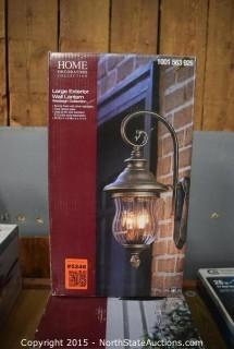 Home Decorators Collection Large Exterior Wall Lantern