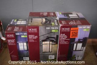 Lot of Home Decorators Collection Wall Lanterns
