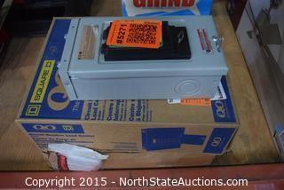 Lot of Circuit Breaker Boxes