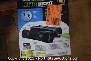Lot of Night Hero Binoculars
