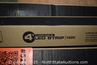 Lot of Lithonia Lighting 4' LED Strip