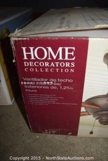 Home Decorators Collection Indoor/Outdoor Ceiling Fan