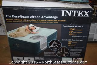 Intex Premium Pillowtop Queen Airbed