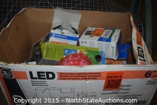Lot of Misc Household Hardware and Supplies